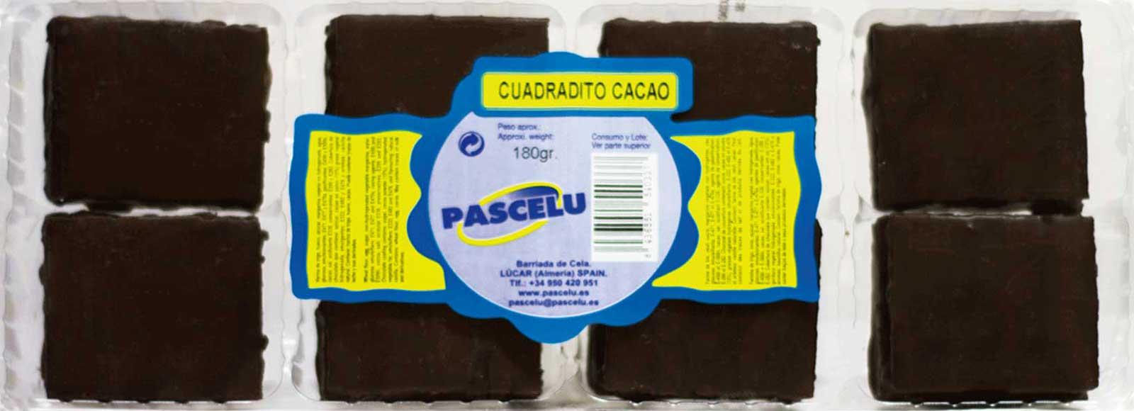 Cuadraditos Cacao